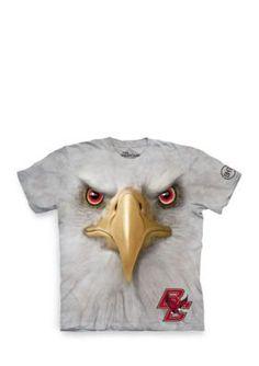The Mountain  Boston College Eagles Big Face Baldwin T-Shirt