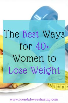 Have you reached that magical age after 40 where you start to gain a little weight no matter what you do? Me too! I don't like it, so I found 7 easy tips to help you lose weight. Come discover what I found!