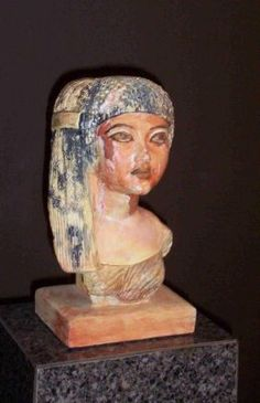 Bust of Queen Ankhesenamun (wife of Tutankhamun)