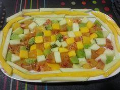 Mosaic de fruites