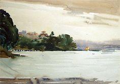 Coastal Landscape John Weeks Lot 91, 23/05/06