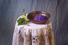 Viola oil - Herbs and its practice. Lace Skirt, Herbs, Herb, Spice