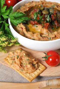 This white bean spread with sun dried tomatoes will transport you straight to Italy.