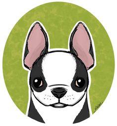 Risultati immagini per dog digital illustrations