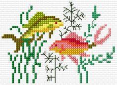 Link to crafting website free patterns for cross stitch, quilting, knitting etc