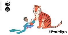 Become a Tiger Protector and receive a beautiful story book with a twist: you choose a child to star in it.