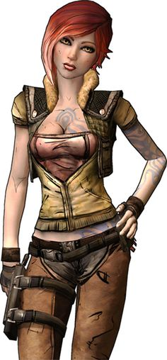Lilith the Siren - Borderlands - Vault Hunter profile