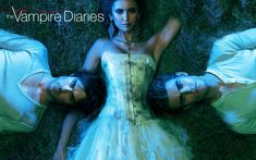 The Vampire Diaries. I can never tell if it's Elena or Katherine in these promos.