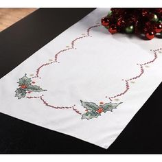 Bucilla 86288 Christmas Bells Stamped Cross Stitch Table Runner, 14-Inch by 44-Inch  http://www.fivedollarmarket.com/bucilla-86288-christmas-bells-stamped-cross-stitch-table-runner-14-inch-by-44-inch/