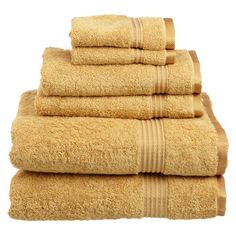 Artfully woven of Egyptian cotton, this sumptuous bath towel set brings a touch of spa-worthy indulgence to your master bath.    Product...