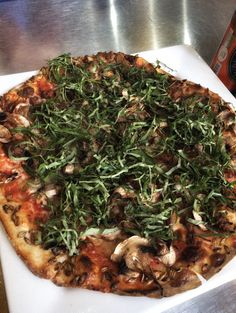 Dang amazing pizza at Baja Brewing Co. In Cabo San Lucas.