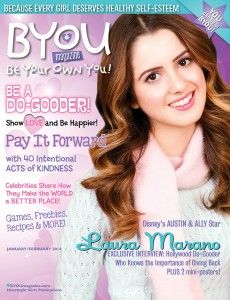@Disney #AustinandAlly star Laura Marano on the cover of BYOU Magazine's January/February 2014 issue! www.BYOUmagazine.com