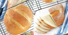 Revoluční domácí chléb – Hotový za 90 minut a tak snadný, že se nemůže nepovést Bread Baking, Hot Dog Buns, Pizza, Cheesecake, Recipes, Food, Breads, Chicken, Hampers