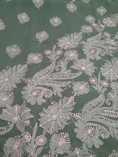 Lucknowi Chikan Embroidery. [*Sfq*]