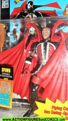 "1994 Todd McFarlane Spawn /""Hamburger Head/"" Action Figure Series 1 Lightning Card"