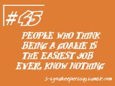 soccer goalie quotes - Google Search