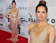 Louise Roe In Manish Arora - Warner Bros And InStyle Golden Globe Awards After Party