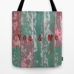 #totebag #sac #you&me #love #amour #wood #bois