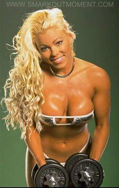 April Hunter - TNA - WCW - women wrestling