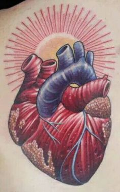 Chris Blinston's winning tattoo from the epic texture elimination challenge battle against St. Marq on Spike's Ink Master Season 6 . Chris Masters, Ink Master, Anatomical Heart, Tatting, Seasons, Texture, Tattoo Hearts, Battle, Challenge