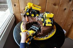 Construction birthday party!