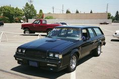 Buick Grand National Wagon...the best way to get the ice cream home before it melts.