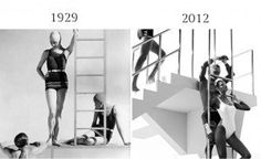 Fashion in Past and Now by Lilah Ramzi