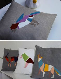 A Little Equation for beauty! mosaic pillows