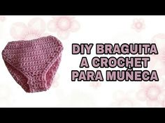 COMO HACER BRAGUITA A CROCHET PARA MUÑECA NANCY - YouTube Girl Dolls, Barbie Dolls, Crochet Videos, Barbie And Ken, Amigurumi Doll, Crochet Clothes, Dress Making, Doll Clothes, Knitting