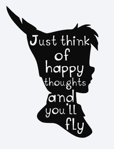 Fly Quotes, Cute Quotes, Movie Quotes, Book Quotes, Happy Thoughts Quotes, Think Happy Thoughts, Happy Quotes, Happy Memories Quotes, Hades Disney