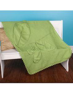 Swirling Leaves Baby Blanket
