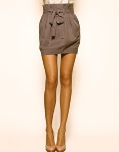 Bag skirt.