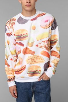 Delicious - Rook Fast Food Pullover Sweatshirt