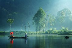 Silent Morning by Andre Arment    I'm convinced that Indonesia has the most magical type of lighting I have ever seen!    #Indonesia #photography #waterscape