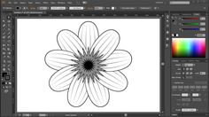 How to Draw a Flower in Adobe Illustrator   2