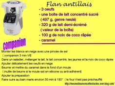 Flan antillais ( à la noix de coco )