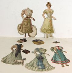 CA1894 Set of Raphael Tuck Paper Dolls Bridesmaid from Bridal Party Series | eBay