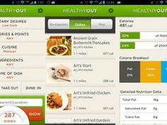 Find and order healthy meals from local restaurants with HealthyOut