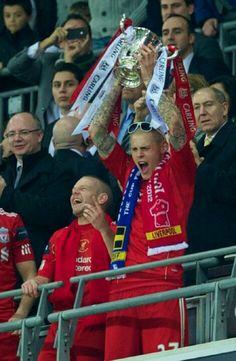 league cup celebrations 2011