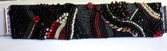 Armbänder - gesticktes Perlenarmband Anastasia - ein Designerstück von sibea bei DaWanda
