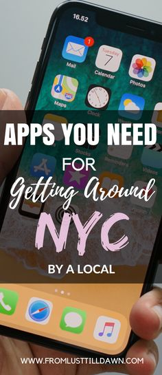 Want to know what NYC subway and travel apps locals use in New York? Check out this list of helpful subway directions and NYC travel apps that I use daily and weekly! | PIN FOR LATER | #nyc #newyorkcity #travelapp