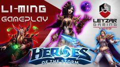 Heroes of the Storm (Gameplay) - Li-Ming, Kael'thas, Jaina - Triple Mage...