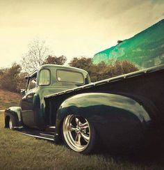 bikes, bobbers, and cars 54 Chevy Truck, Chevy 3100, Chevy Pickups, 1956 Ford F100, Cool Trucks, Impala, Antique Cars, Classic Cars, Bobbers