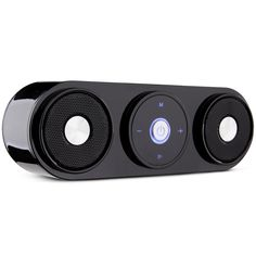 Bluetooth Speakers, ZENBRE Z3 10W Portable Wireless Speakers, Computer Speaker with Enhanced Bass Resonator [Upgraded Bluetooth 4.0] (Black)