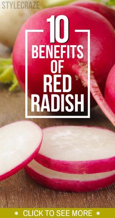 Because here we tell you in what amazing ways a red radish can benefit your health! Radish is a root crop known for its sweet or pungent taste.