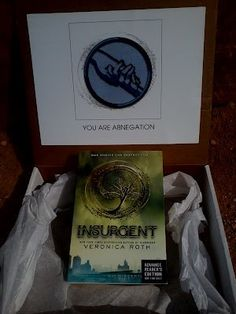 Insurgent by Veronica Roth ARC giveaway!