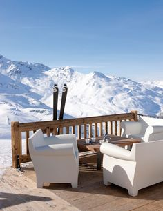 Val Thorens: 300 km of tracks. Magnificent views of Saint-Martin from 2000 meters high. #Alps