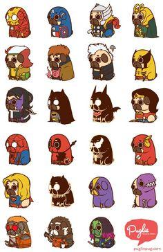 Puglie Heros and Villains
