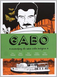 Cómic de la biografía de Gabriel García Márquez