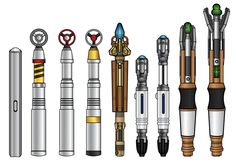 Sonic Screwdrivers by ~CosmicThunder on deviantART